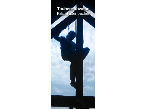 Taubenabwehr-Spezialist Ralf Faltenbacher