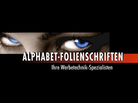 Alphabet Folienschriften
