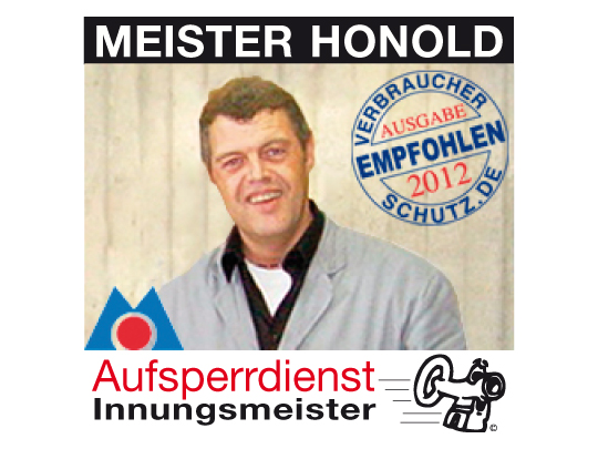 Honold Theodor Innungsmeister