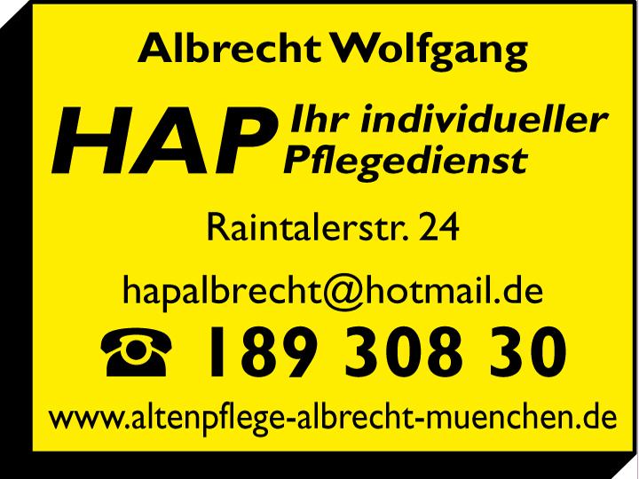 HAP Albrecht Wolfgang