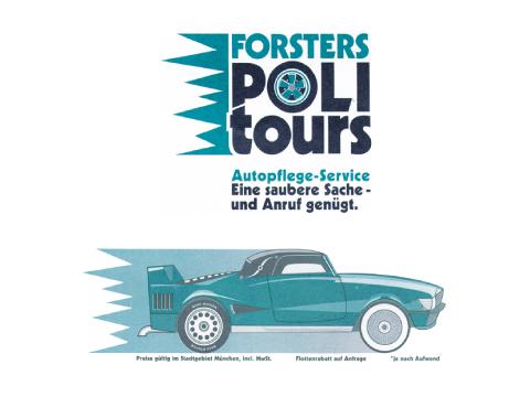Forsters Politours Autoreinigung