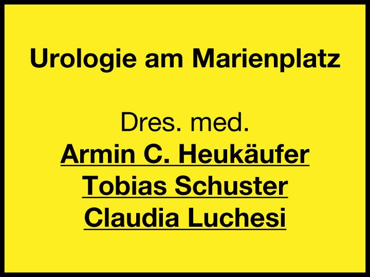 Urologie am Marienplatz