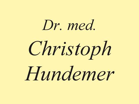 Hundemer Christoph Dr. med.