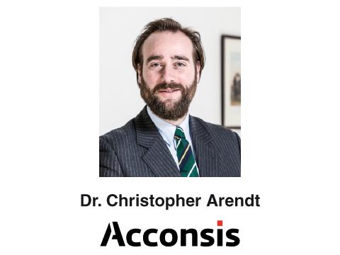 Arendt Christopher Dr. Anwalt der ACCONSIS