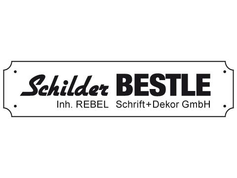 Schilder BESTLE Rebel Schrift + Dekor GmbH