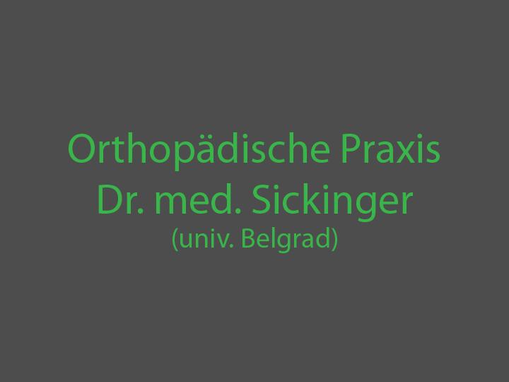Orthopädische Praxis Dr. med. Sickinger (unic.Belgrad)