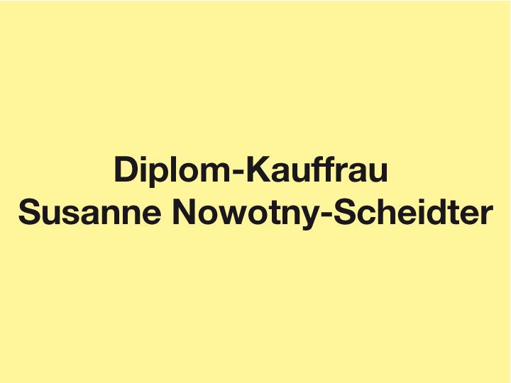 Dipl.-Kauffrau Susanne Nowotny-Scheidter