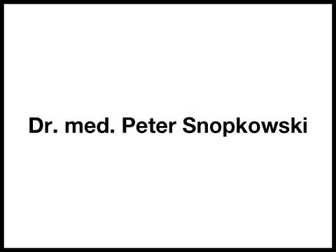 Snopkowski Peter Dr.