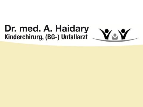 Haidary Abdulfatah Dr. med.