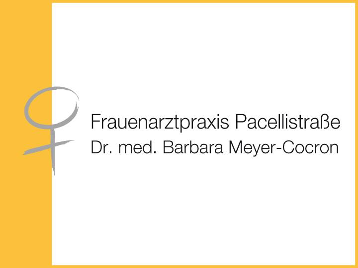 Meyer-Cocron Barbara Dr. med.
